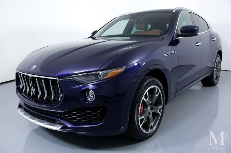 Used 2017 Maserati Levante S AWD 4dr SUV for sale Sold at Metrolina Auto Group in Charlotte NC 28217 - 4