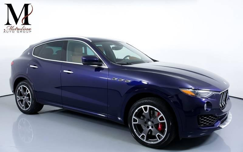 Used 2017 Maserati Levante S AWD 4dr SUV for sale Sold at Metrolina Auto Group in Charlotte NC 28217 - 1