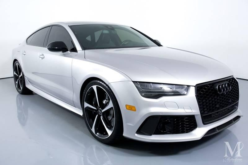 Used 2016 Audi RS 7 4.0T quattro Prestige AWD 4dr Sportback for sale Sold at Metrolina Auto Group in Charlotte NC 28217 - 2