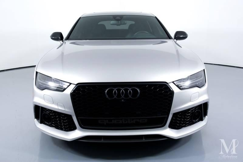 Used 2016 Audi RS 7 4.0T quattro Prestige AWD 4dr Sportback for sale Sold at Metrolina Auto Group in Charlotte NC 28217 - 3