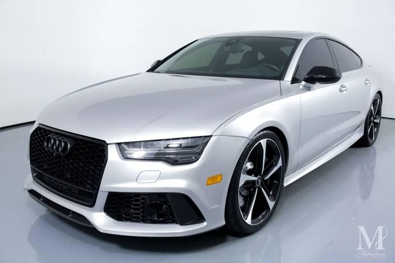 Used 2016 Audi RS 7 4.0T quattro Prestige AWD 4dr Sportback for sale Sold at Metrolina Auto Group in Charlotte NC 28217 - 4