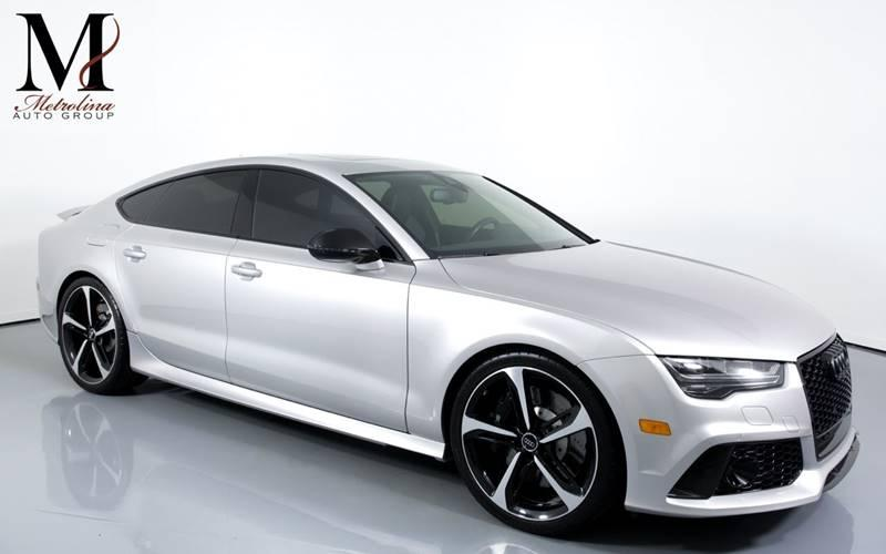 Used 2016 Audi RS 7 4.0T quattro Prestige AWD 4dr Sportback for sale Sold at Metrolina Auto Group in Charlotte NC 28217 - 1