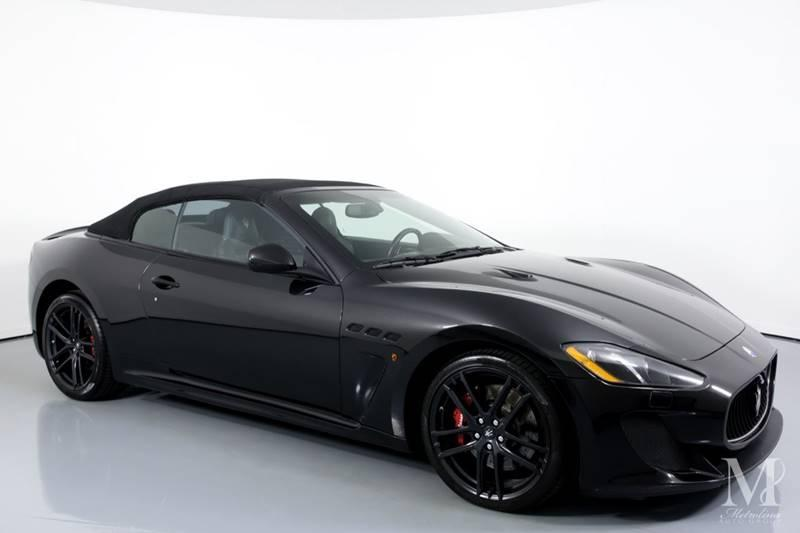 Used 2013 Maserati GranTurismo MC 2dr Convertible for sale Sold at Metrolina Auto Group in Charlotte NC 28217 - 2