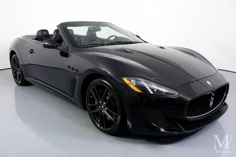 Used 2013 Maserati GranTurismo MC 2dr Convertible for sale Sold at Metrolina Auto Group in Charlotte NC 28217 - 3