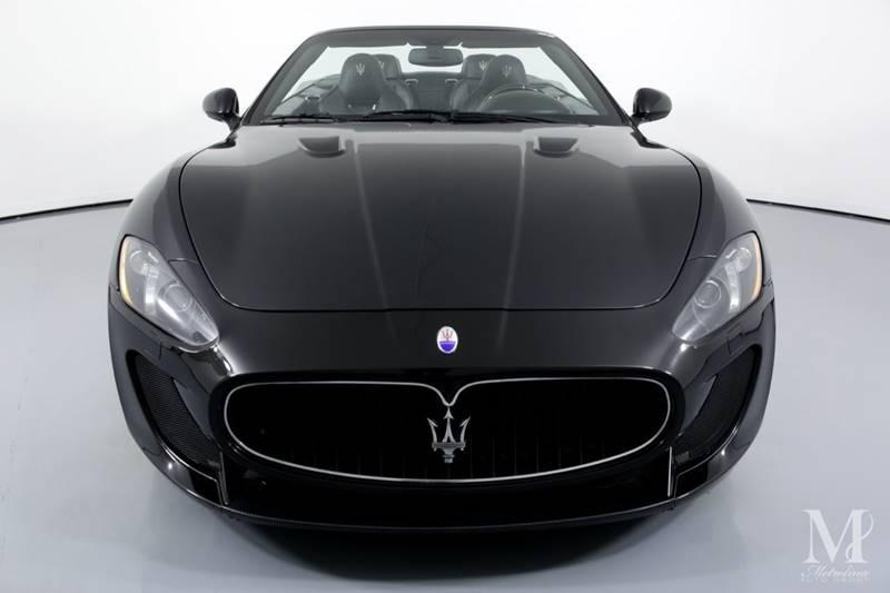 Used 2013 Maserati GranTurismo MC 2dr Convertible for sale Sold at Metrolina Auto Group in Charlotte NC 28217 - 4