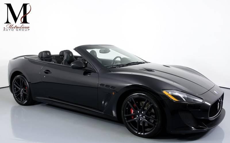 Used 2013 Maserati GranTurismo MC 2dr Convertible for sale Sold at Metrolina Auto Group in Charlotte NC 28217 - 1