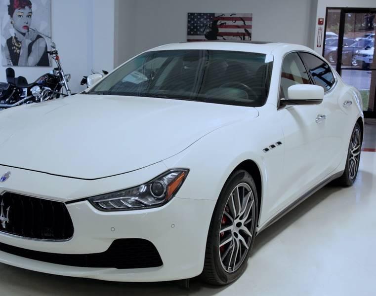 Used 2015 Maserati Ghibli S Q4 AWD 4dr Sedan for sale Sold at Metrolina Auto Group in Charlotte NC 28217 - 4