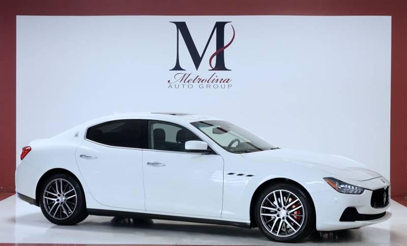 Used 2015 Maserati Ghibli S Q4 AWD 4dr Sedan for sale Sold at Metrolina Auto Group in Charlotte NC 28217 - 1