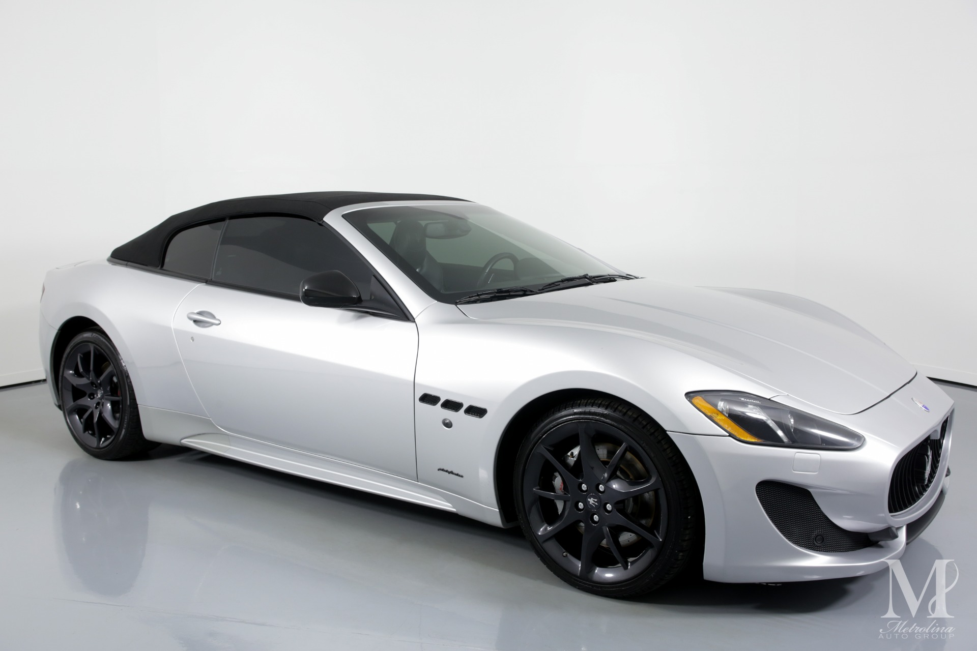 Used 2014 Maserati GranTurismo Sport 2dr Convertible for sale $54,996 at Metrolina Auto Group in Charlotte NC 28217 - 2