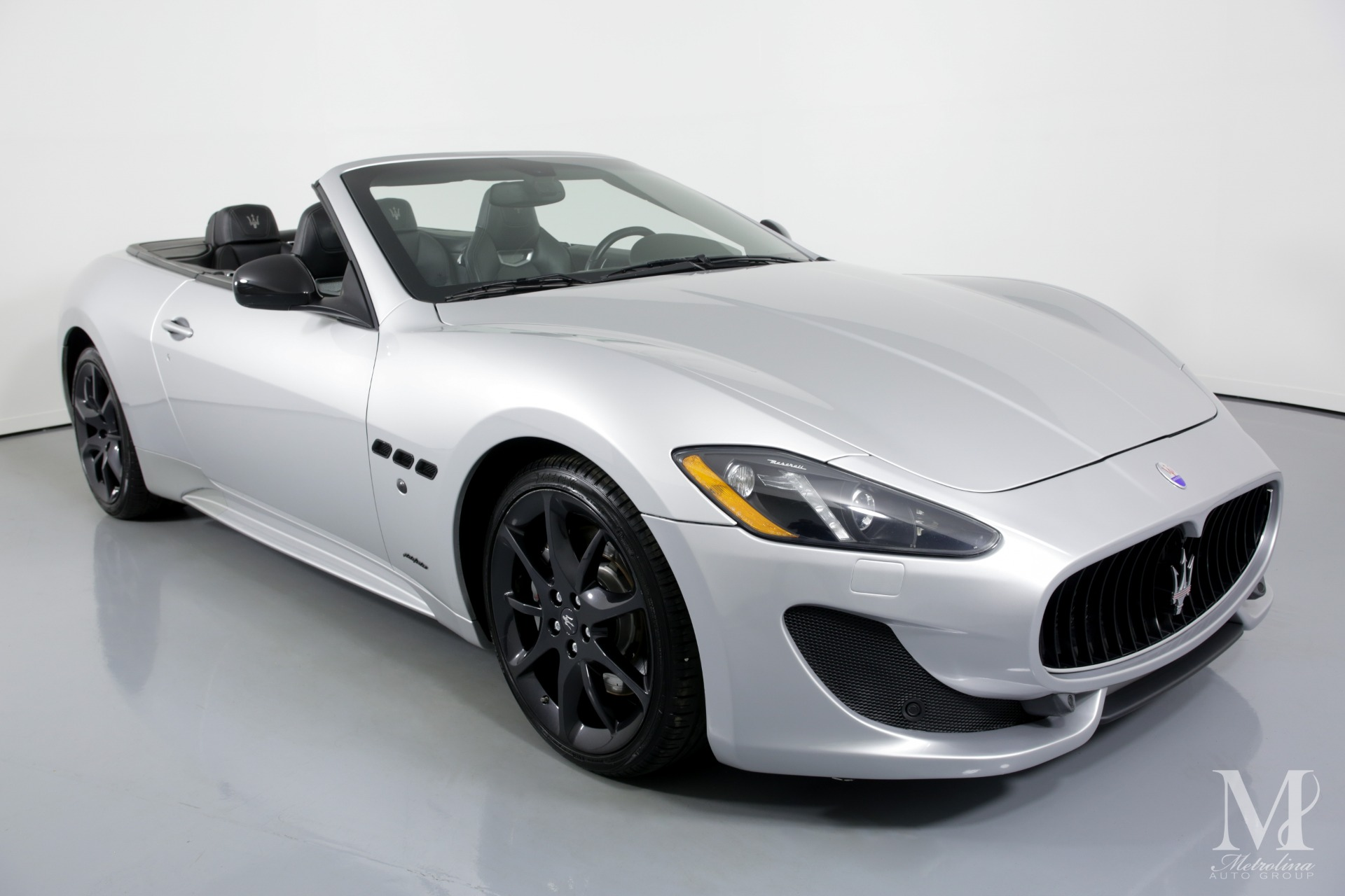 Used 2014 Maserati GranTurismo Sport 2dr Convertible for sale $54,996 at Metrolina Auto Group in Charlotte NC 28217 - 3