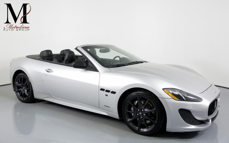 Used Used 2014 Maserati GranTurismo Sport 2dr Convertible for sale $56,456 at Metrolina Auto Group in Charlotte NC