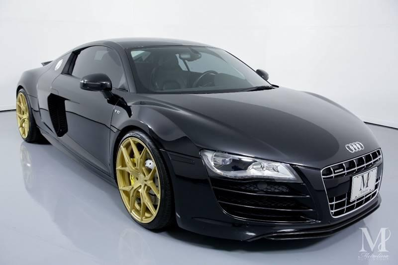 Used 2010 Audi R8 5.2 quattro AWD 2dr Coupe 6A for sale Sold at Metrolina Auto Group in Charlotte NC 28217 - 2