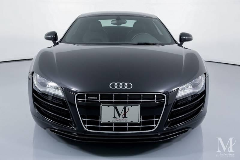 Used 2010 Audi R8 5.2 quattro AWD 2dr Coupe 6A for sale Sold at Metrolina Auto Group in Charlotte NC 28217 - 3