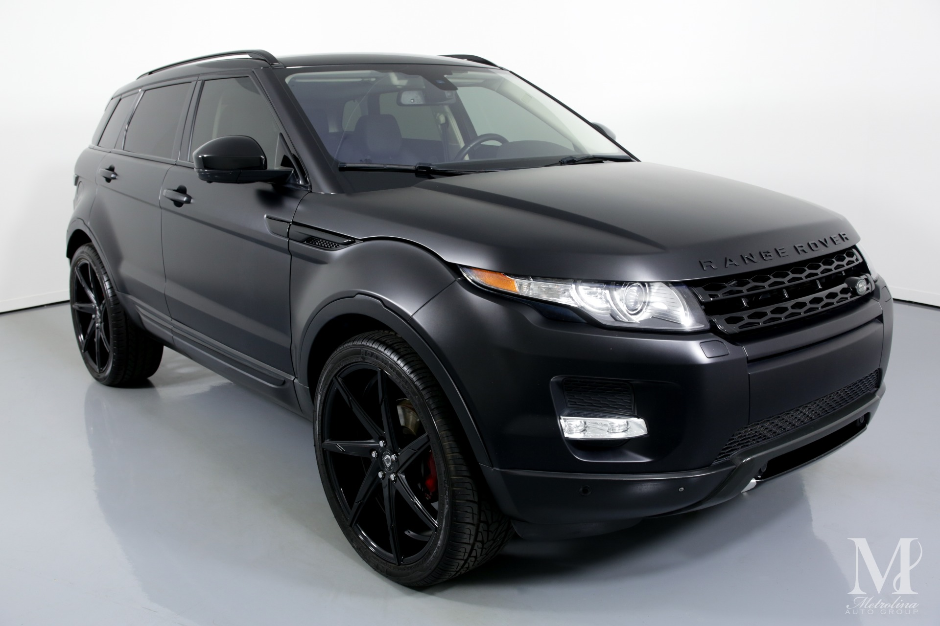 Used 2015 Land Rover Range Rover Evoque Pure Plus AWD 4dr SUV for sale $26,996 at Metrolina Auto Group in Charlotte NC 28217 - 2