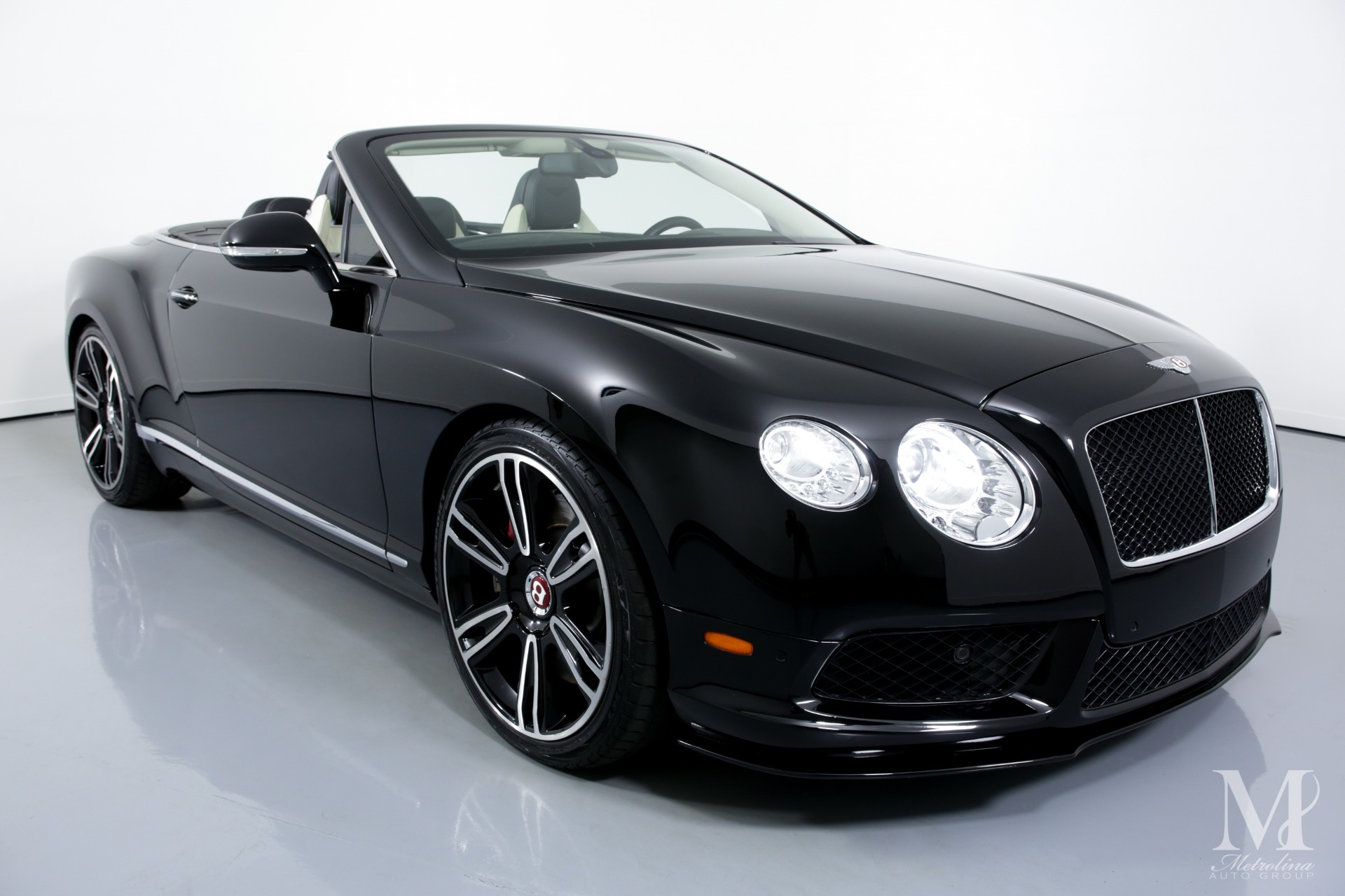 Used 2013 Bentley Continental GT V8 AWD 2dr Convertible for sale Sold at Metrolina Auto Group in Charlotte NC 28217 - 3