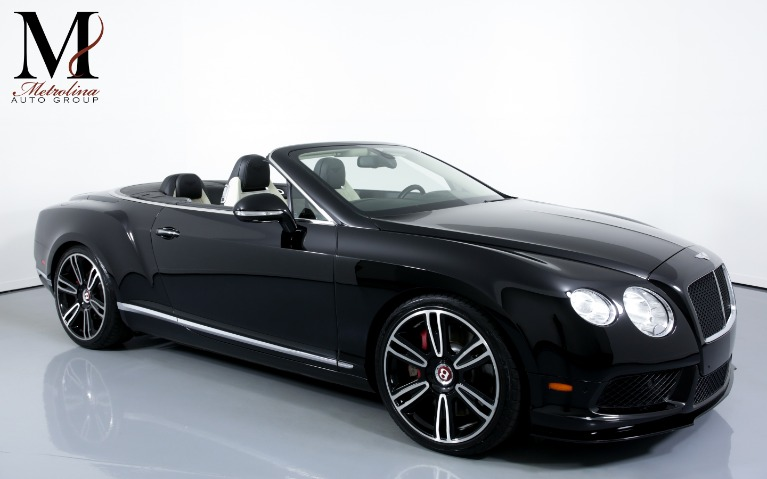 Used Used 2013 Bentley Continental GT V8 AWD 2dr Convertible for sale $79,996 at Metrolina Auto Group in Charlotte NC