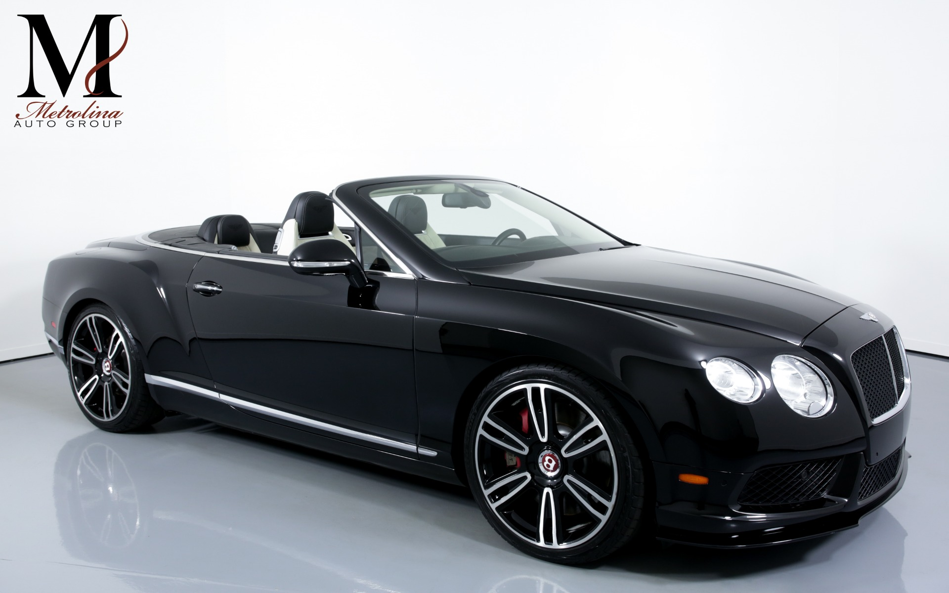 Used 2013 Bentley Continental GT V8 AWD 2dr Convertible for sale Sold at Metrolina Auto Group in Charlotte NC 28217 - 1