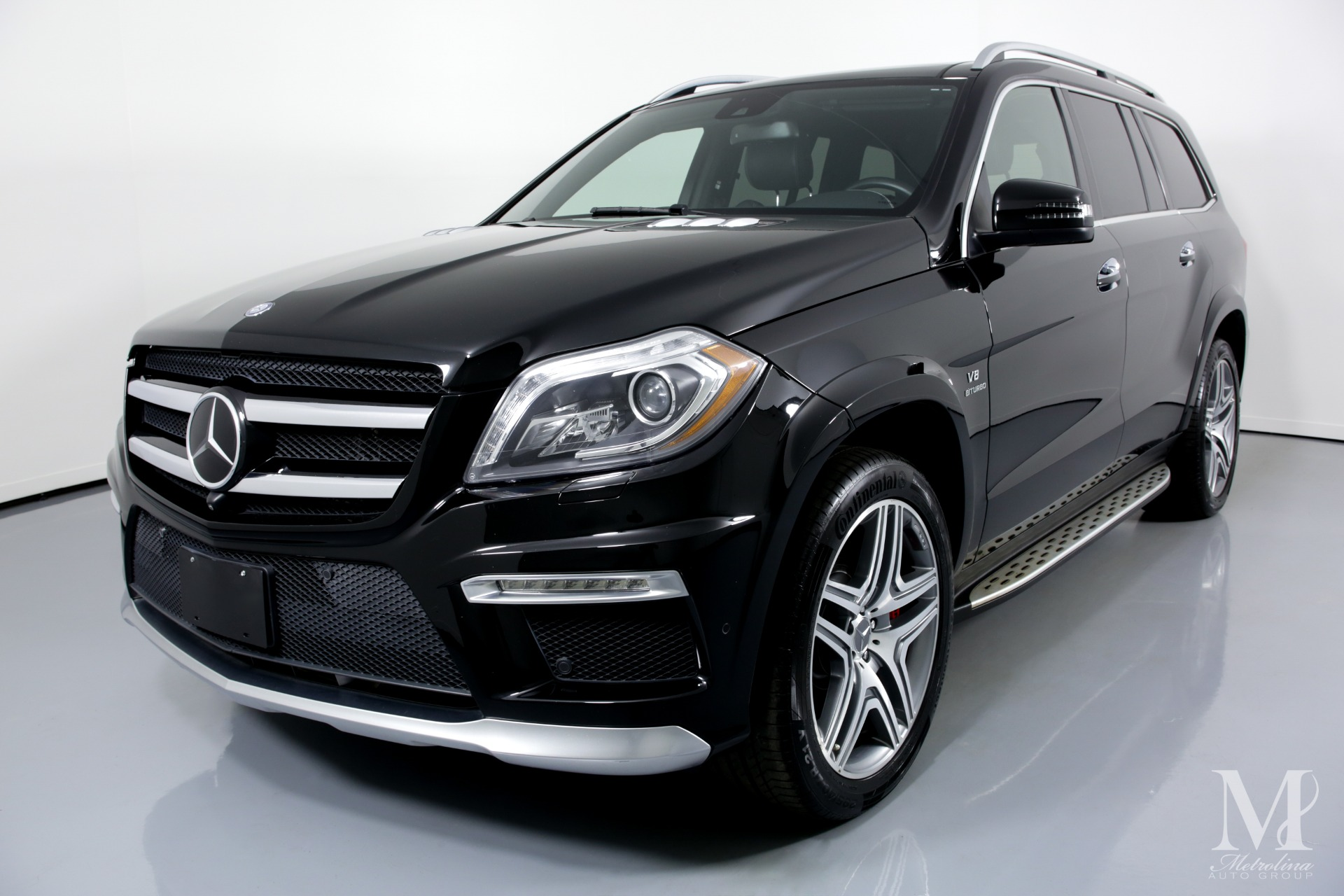 Used 2015 Mercedes-Benz GL-Class GL 63 AMG AWD 4MATIC 4dr SUV for sale $44,996 at Metrolina Auto Group in Charlotte NC 28217 - 4