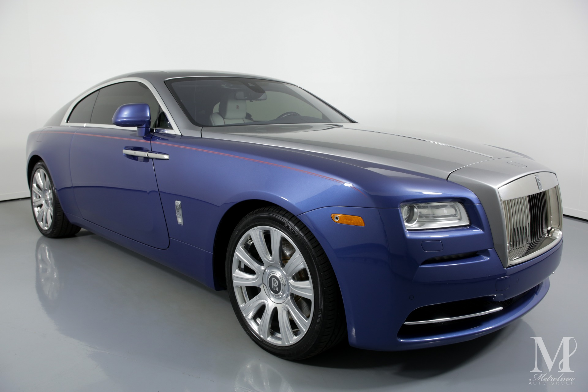 Used 2015 Rolls-Royce Wraith Base 2dr Coupe for sale Sold at Metrolina Auto Group in Charlotte NC 28217 - 2
