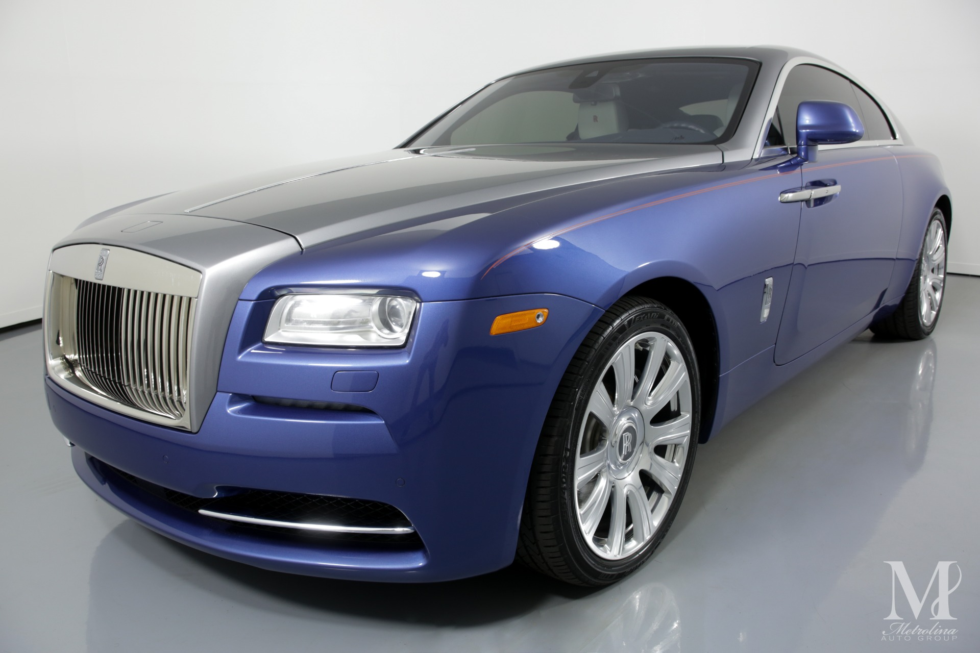 Used 2015 Rolls-Royce Wraith Base 2dr Coupe for sale Sold at Metrolina Auto Group in Charlotte NC 28217 - 4