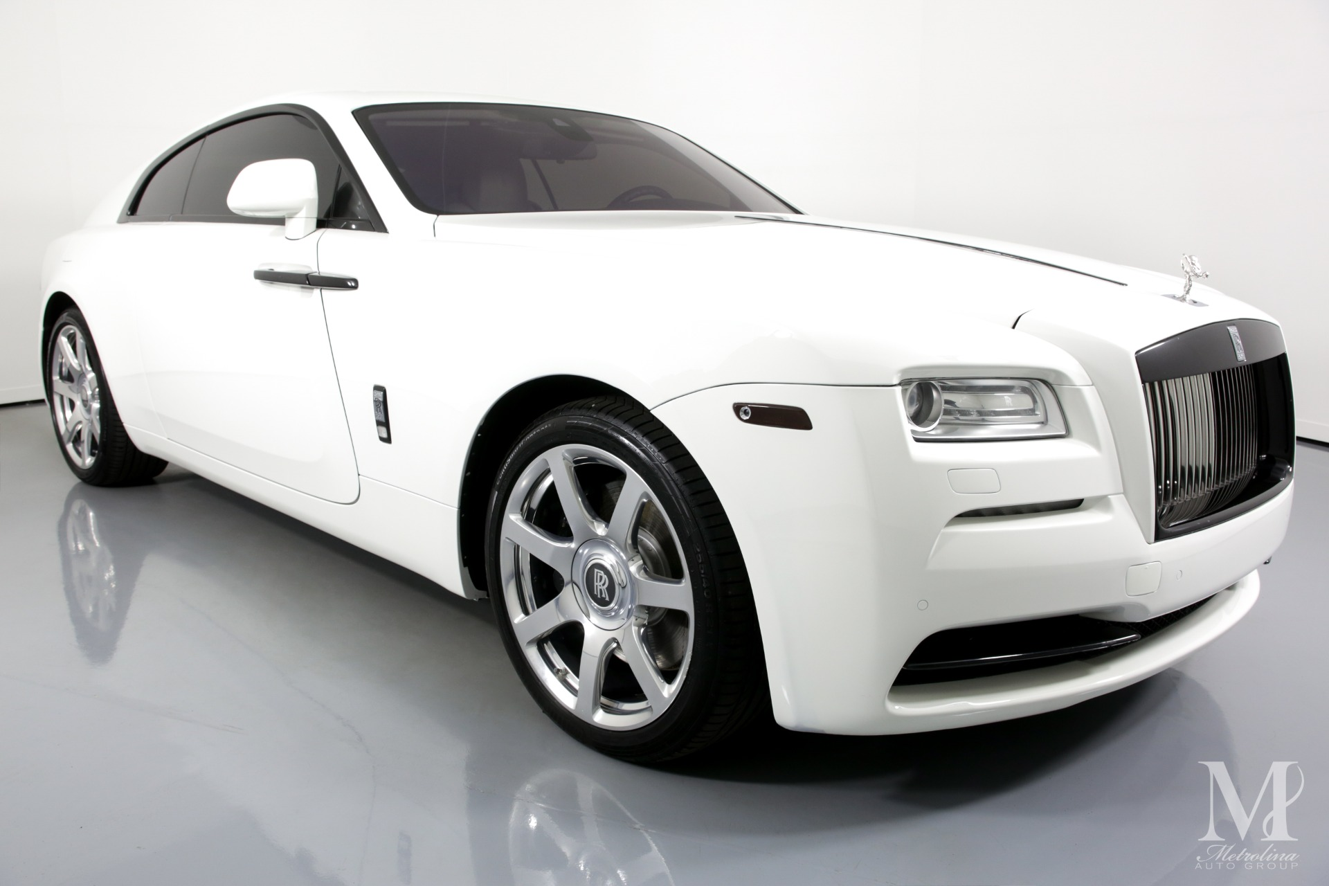 Used 2014 Rolls-Royce Wraith Base 2dr Coupe for sale Sold at Metrolina Auto Group in Charlotte NC 28217 - 2