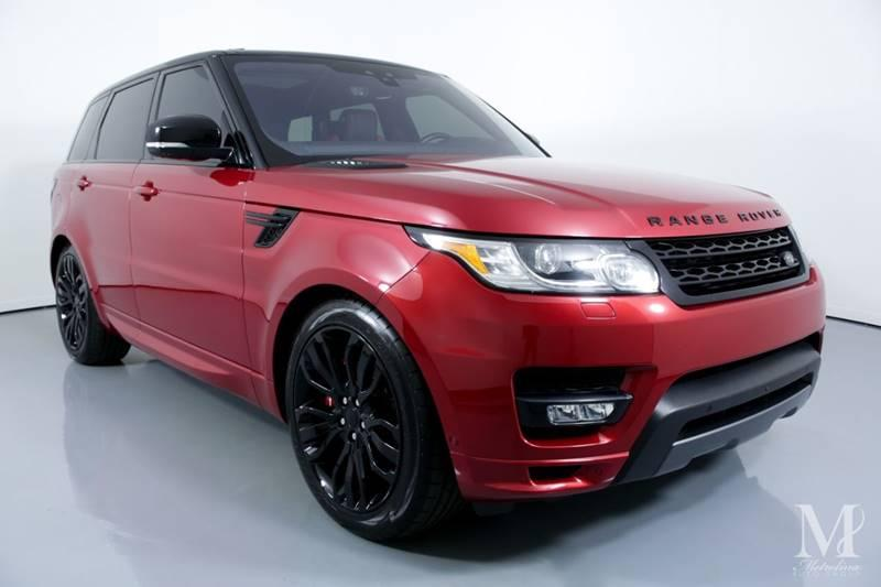 Used 2017 Land Rover Range Rover Sport Autobiography AWD 4dr SUV for sale Sold at Metrolina Auto Group in Charlotte NC 28217 - 2