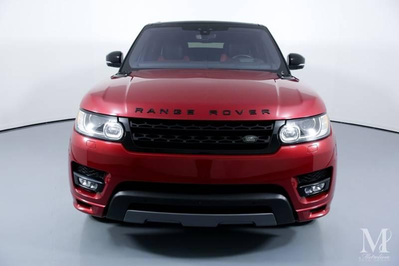Used 2017 Land Rover Range Rover Sport Autobiography AWD 4dr SUV for sale Sold at Metrolina Auto Group in Charlotte NC 28217 - 3