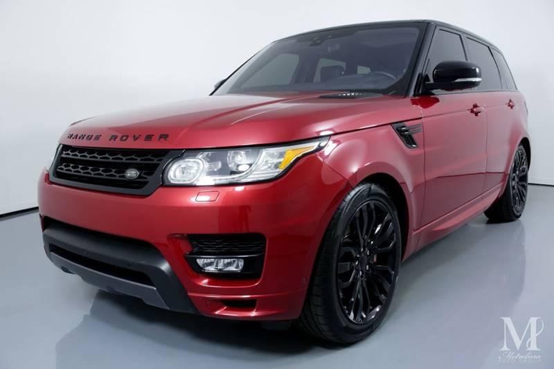 Used 2017 Land Rover Range Rover Sport Autobiography AWD 4dr SUV for sale Sold at Metrolina Auto Group in Charlotte NC 28217 - 4