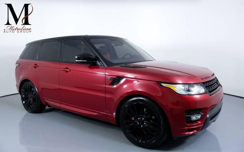 Used 2017 Land Rover Range Rover Sport Autobiography AWD 4dr SUV for sale Sold at Metrolina Auto Group in Charlotte NC 28217 - 1