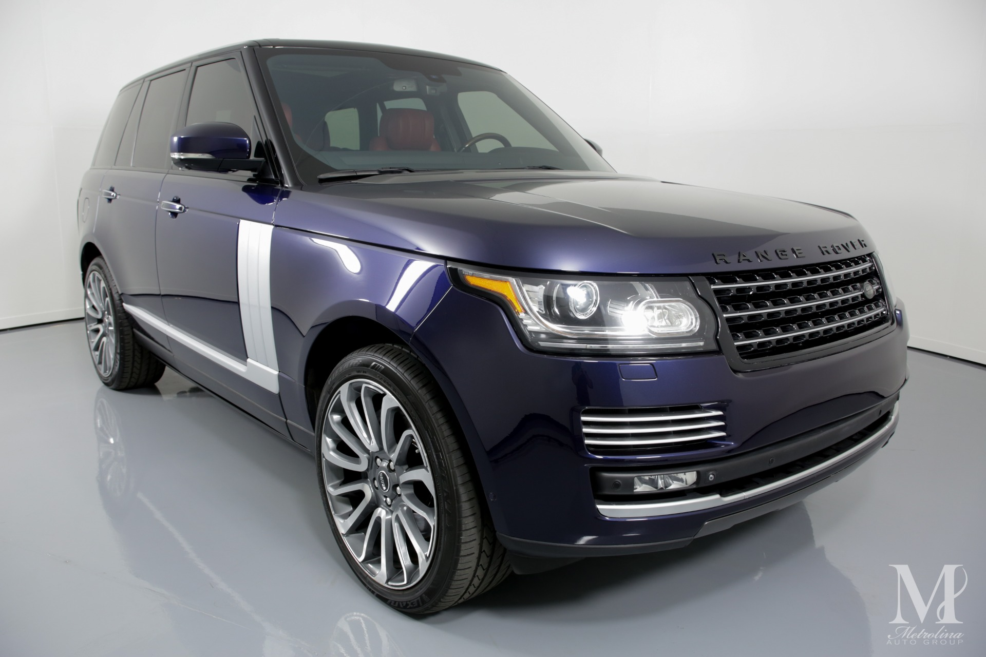 Used 2014 Land Rover Range Rover Autobiography 4x4 4dr SUV for sale Sold at Metrolina Auto Group in Charlotte NC 28217 - 2
