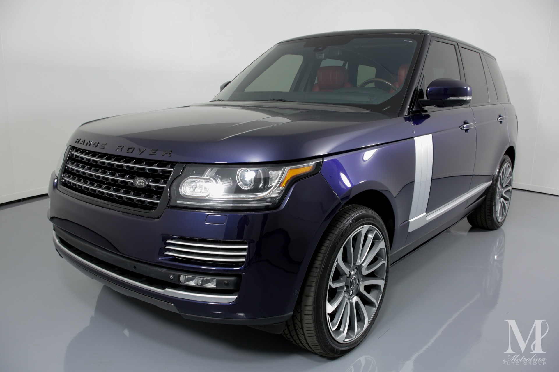 Used 2014 Land Rover Range Rover Autobiography 4x4 4dr SUV for sale Sold at Metrolina Auto Group in Charlotte NC 28217 - 4