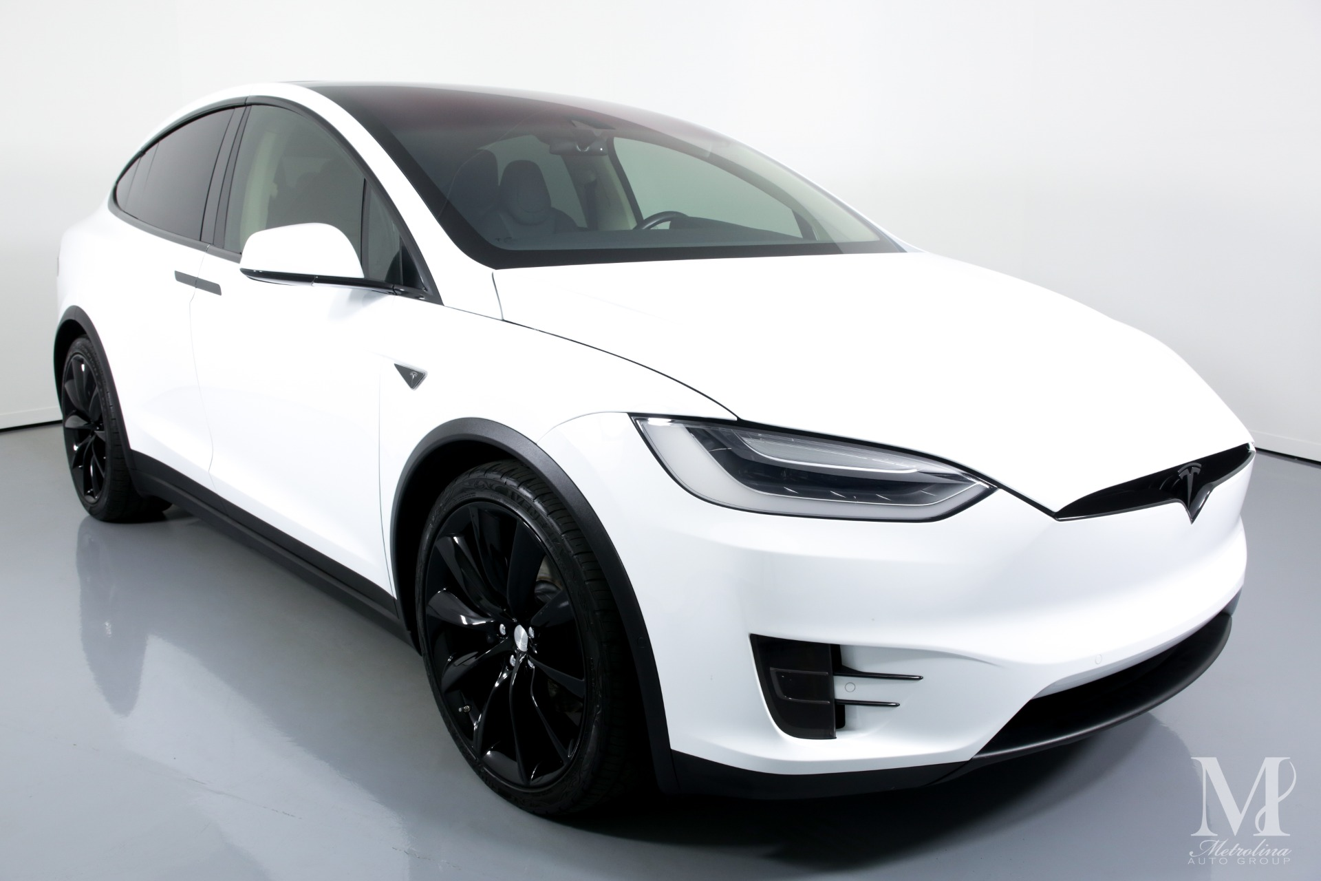 Used 2016 Tesla Model X 75D AWD 4dr SUV for sale $69,996 at Metrolina Auto Group in Charlotte NC 28217 - 2
