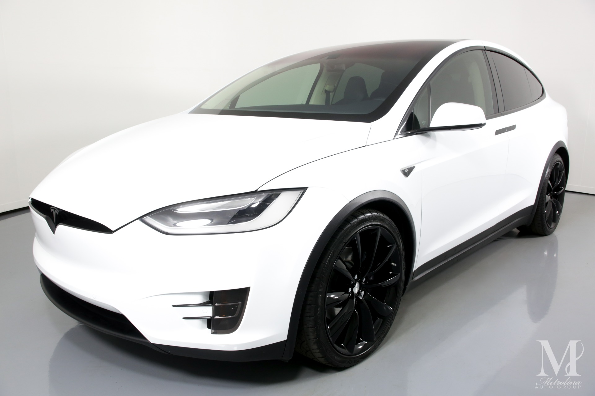 Used 2016 Tesla Model X 75D AWD 4dr SUV for sale $67,996 at Metrolina Auto Group in Charlotte NC 28217 - 4