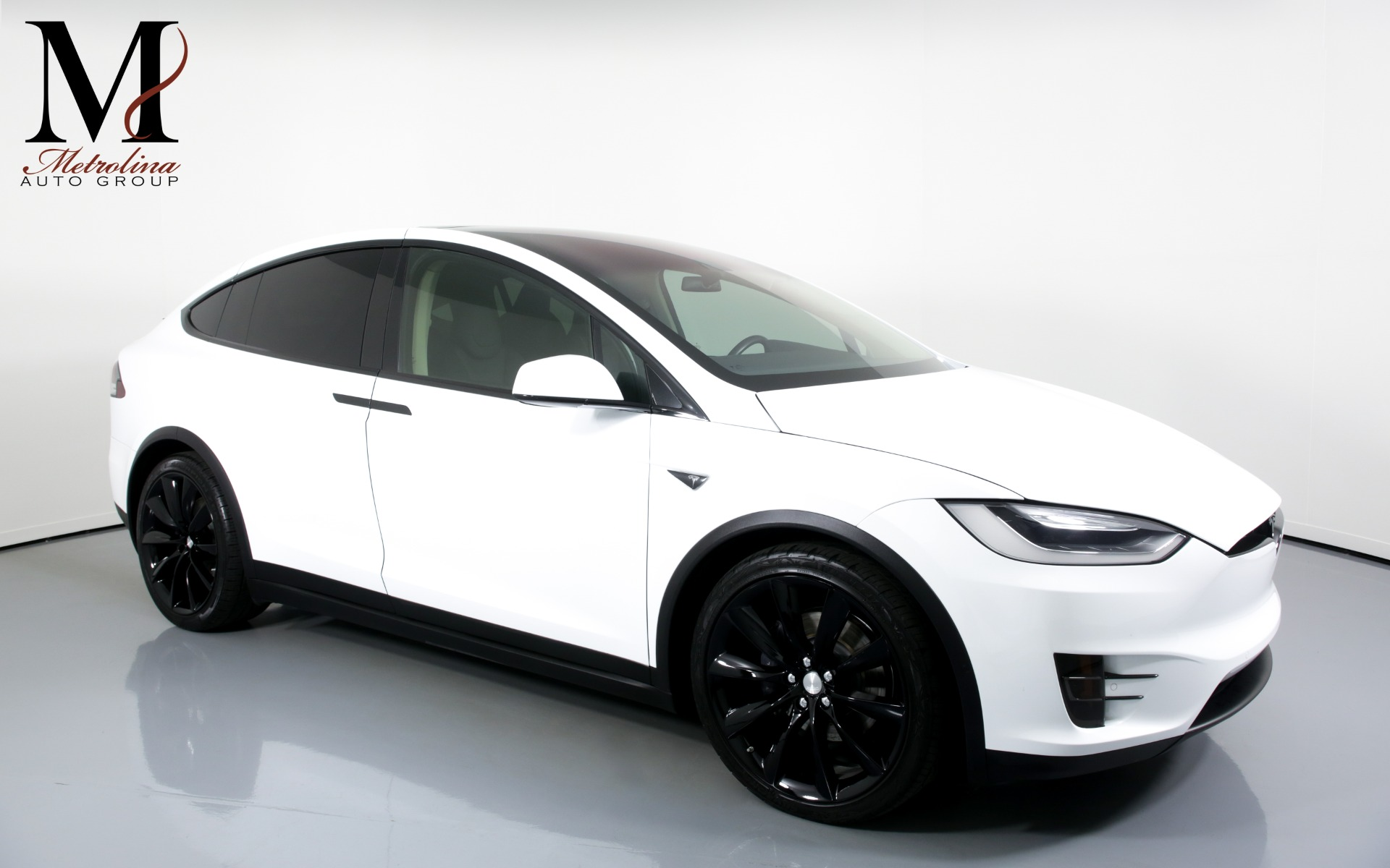Used 2016 Tesla Model X 75D AWD 4dr SUV for sale $69,996 at Metrolina Auto Group in Charlotte NC 28217 - 1