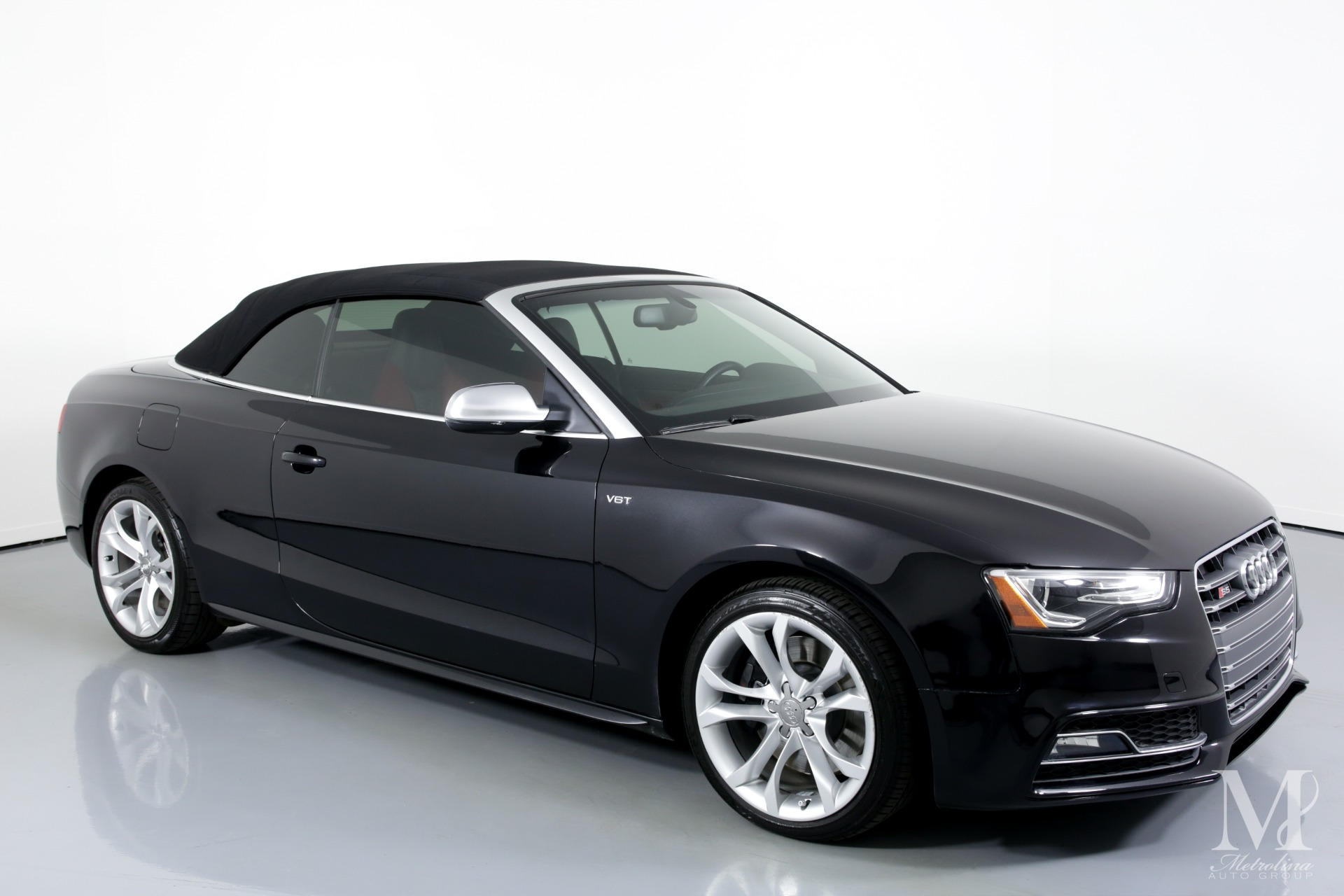 Used 2014 Audi S5 3.0T quattro Premium Plus AWD 2dr Convertible for sale $24,995 at Metrolina Auto Group in Charlotte NC 28217 - 2