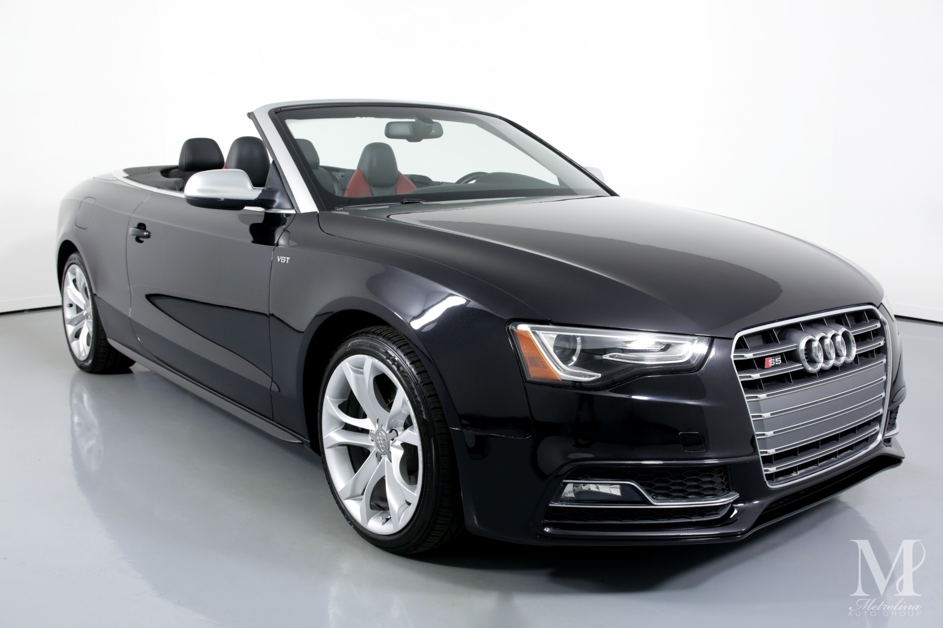 Used 2014 Audi S5 3.0T quattro Premium Plus AWD 2dr Convertible for sale $24,995 at Metrolina Auto Group in Charlotte NC 28217 - 3