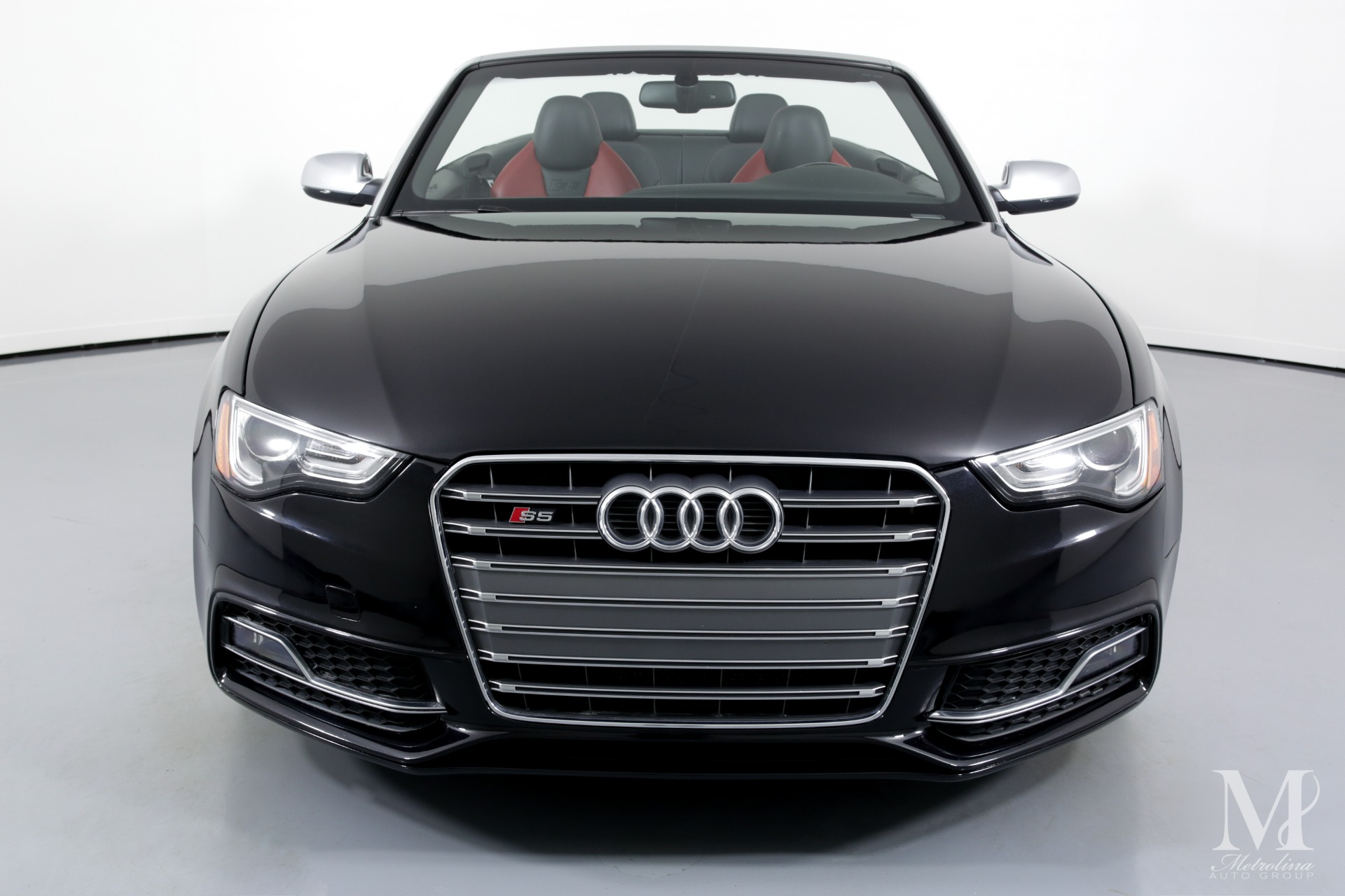 Used 2014 Audi S5 3.0T quattro Premium Plus AWD 2dr Convertible for sale $24,995 at Metrolina Auto Group in Charlotte NC 28217 - 4