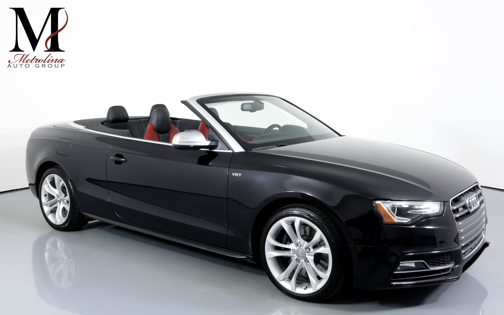 Used 2014 Audi S5 3.0T quattro Premium Plus AWD 2dr Convertible for sale $24,995 at Metrolina Auto Group in Charlotte NC 28217 - 1