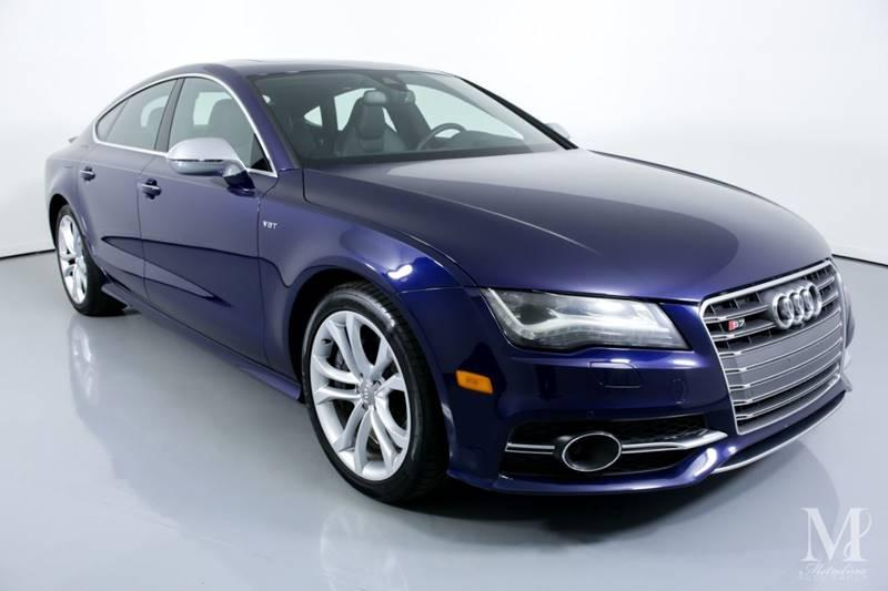 Used 2013 Audi S7 4.0T quattro Prestige AWD 4dr Sportback for sale Sold at Metrolina Auto Group in Charlotte NC 28217 - 2