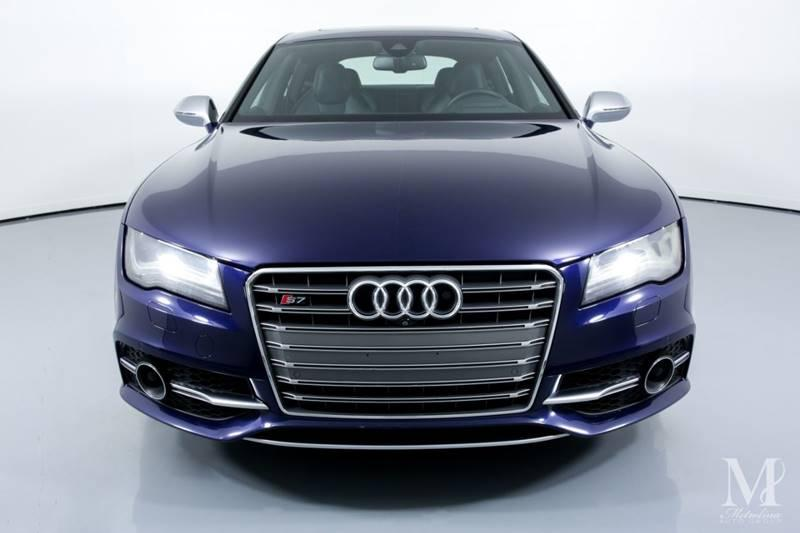 Used 2013 Audi S7 4.0T quattro Prestige AWD 4dr Sportback for sale Sold at Metrolina Auto Group in Charlotte NC 28217 - 3