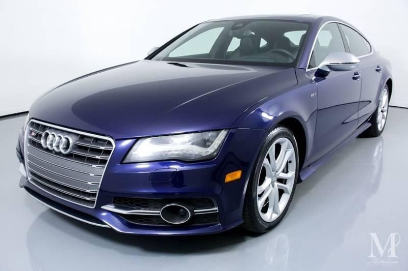 Used 2013 Audi S7 4.0T quattro Prestige AWD 4dr Sportback for sale Sold at Metrolina Auto Group in Charlotte NC 28217 - 4