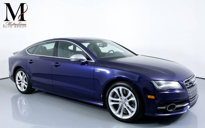 Used 2013 Audi S7 4.0T quattro Prestige AWD 4dr Sportback for sale Sold at Metrolina Auto Group in Charlotte NC 28217 - 1