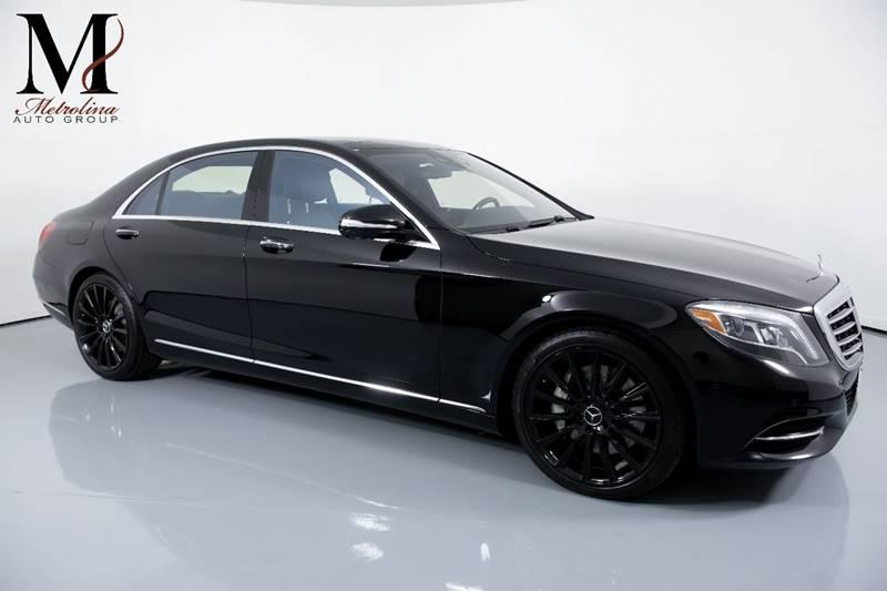 Used 2015 Mercedes-Benz S-Class S 550 4MATIC AWD 4dr Sedan for sale Sold at Metrolina Auto Group in Charlotte NC 28217 - 1