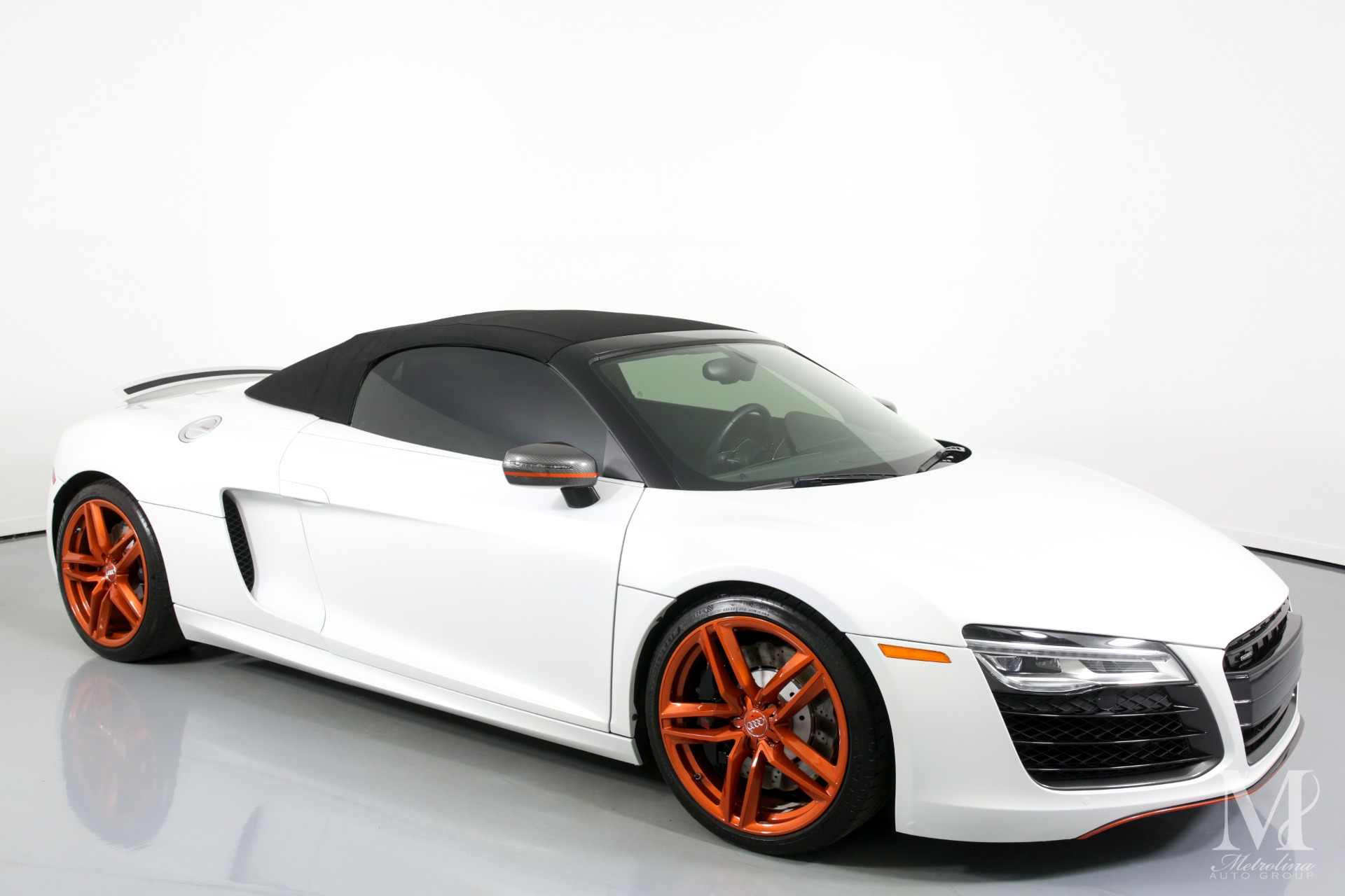 Used 2014 Audi R8 5.2 quattro Spyder for sale $86,996 at Metrolina Auto Group in Charlotte NC 28217 - 2
