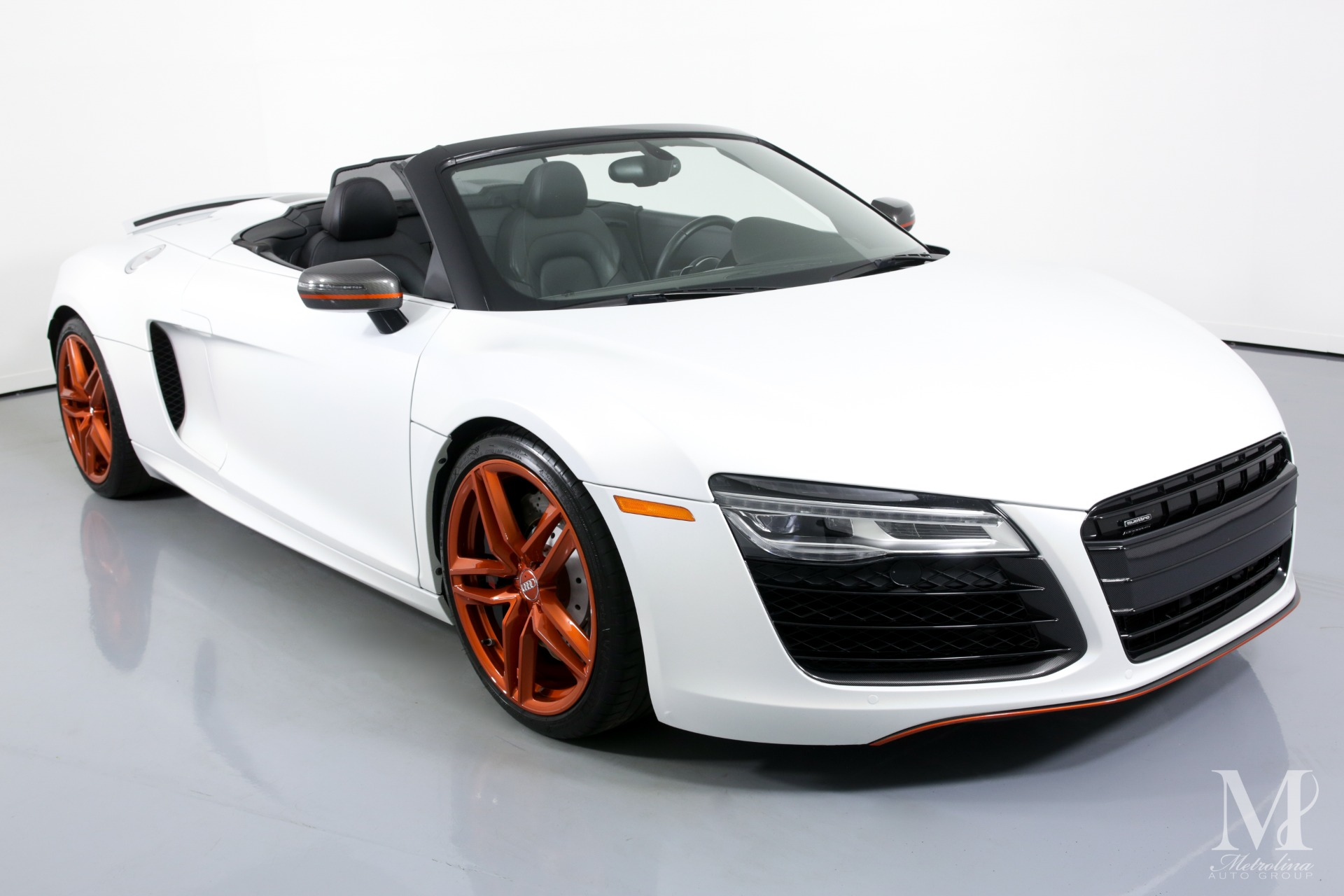Used 2014 Audi R8 5.2 quattro Spyder for sale $86,996 at Metrolina Auto Group in Charlotte NC 28217 - 3