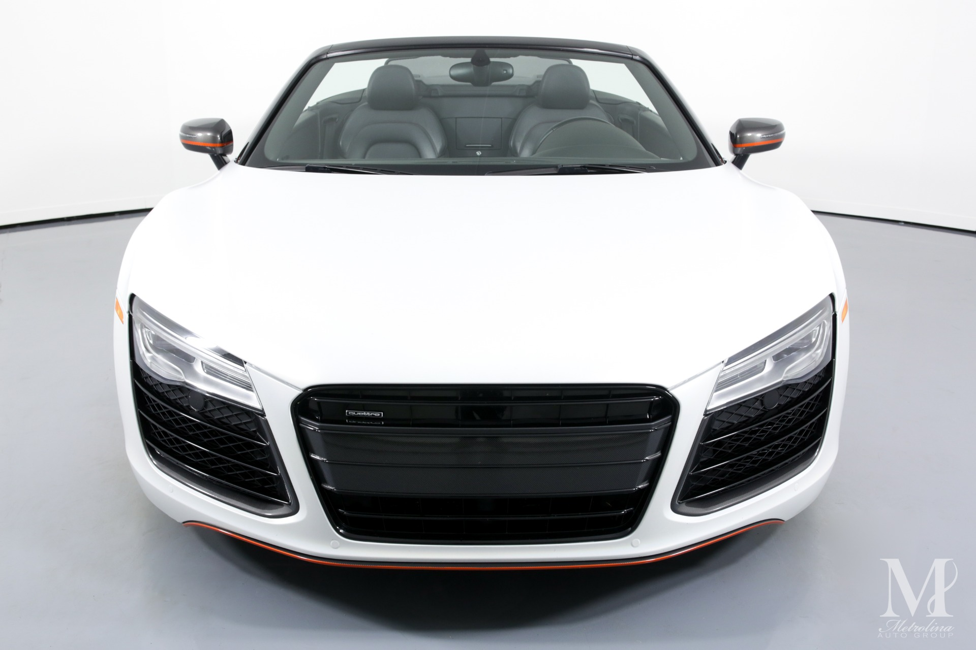 Used 2014 Audi R8 5.2 quattro Spyder for sale $86,996 at Metrolina Auto Group in Charlotte NC 28217 - 4