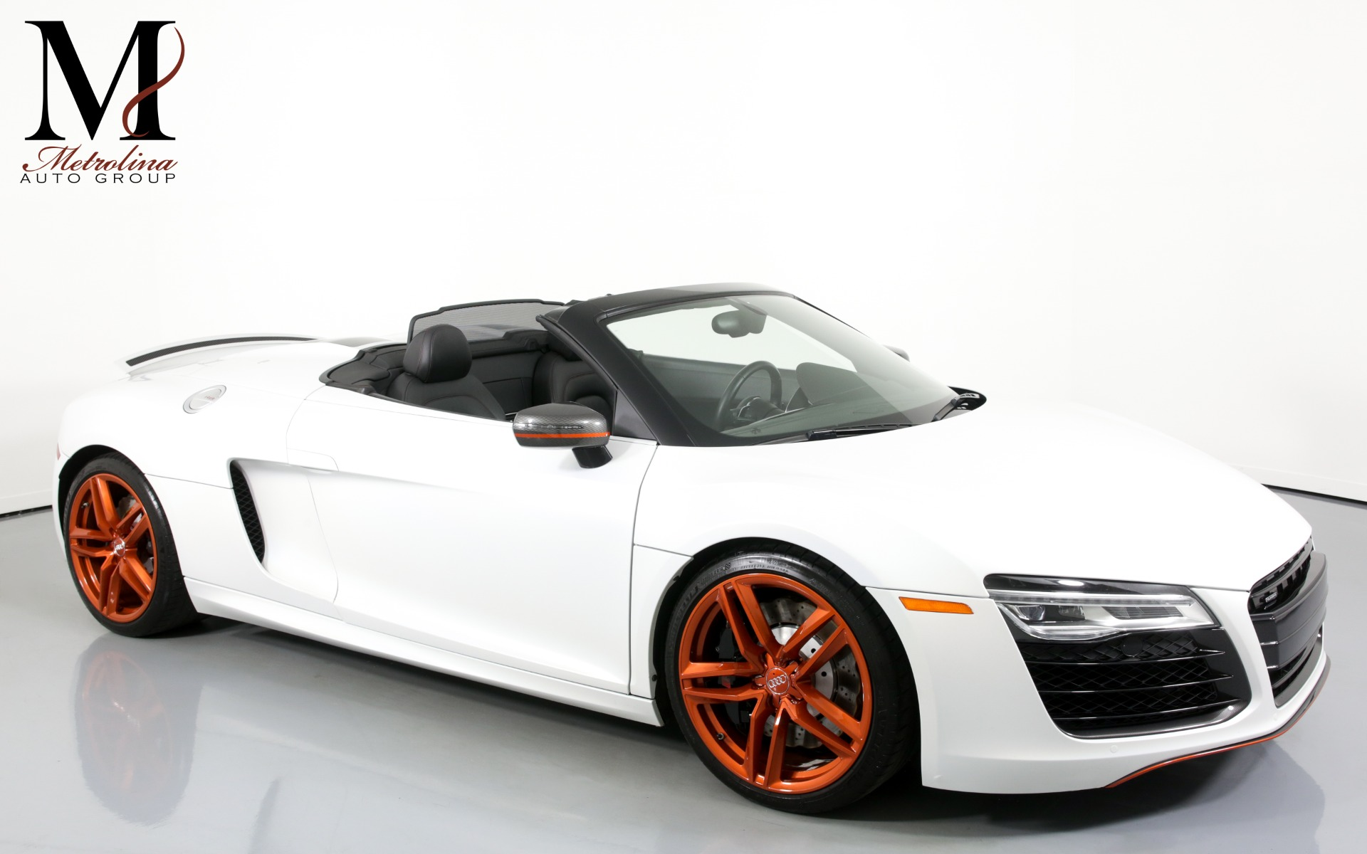 Used 2014 Audi R8 5.2 quattro Spyder for sale $86,996 at Metrolina Auto Group in Charlotte NC 28217 - 1