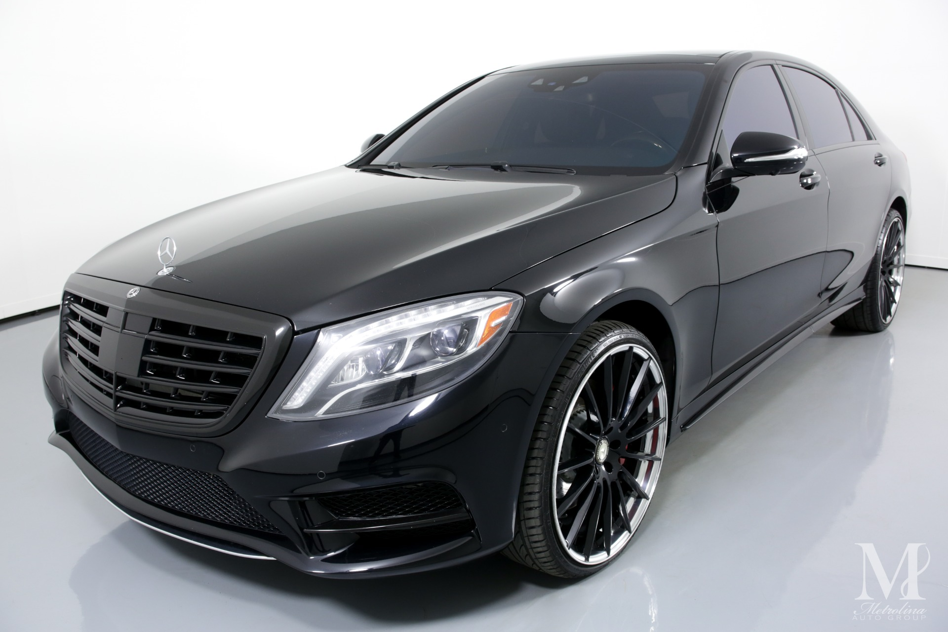 Used 2015 Mercedes-Benz S-Class S 550 for sale $42,996 at Metrolina Auto Group in Charlotte NC 28217 - 4