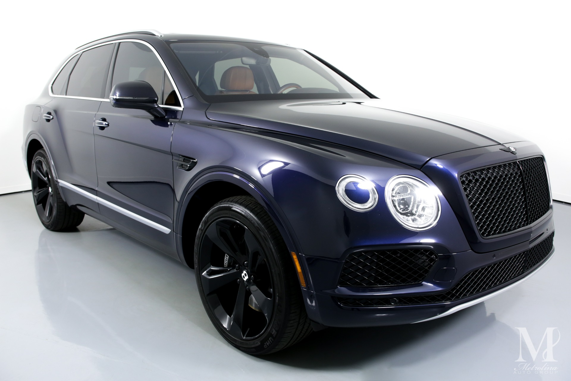 Used 2017 Bentley Bentayga W12 for sale $129,996 at Metrolina Auto Group in Charlotte NC 28217 - 2