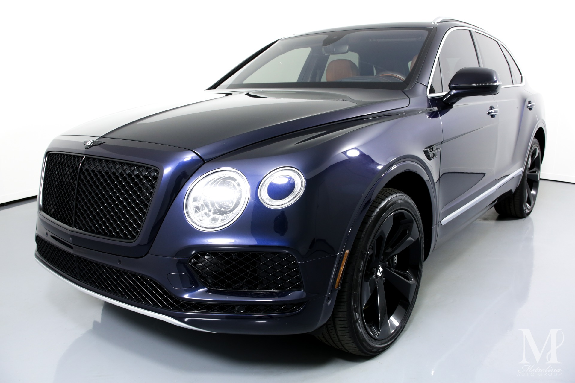 Used 2017 Bentley Bentayga W12 for sale $129,996 at Metrolina Auto Group in Charlotte NC 28217 - 4